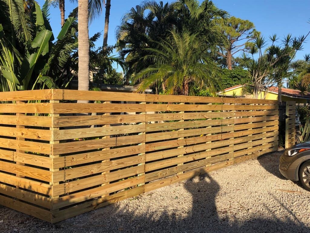 Jacksonville top fence installation services