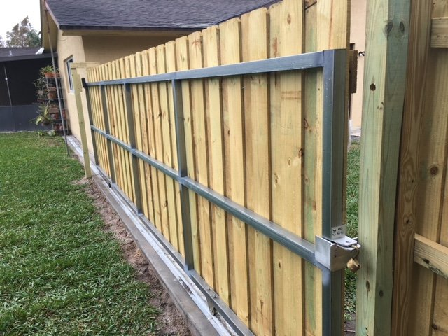 chain link fence installation jacksonville
